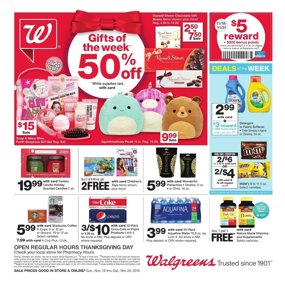 Walgreens Black Friday page 1